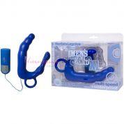 Водонепроницаемый массажер Pleasure Wand extra large синий