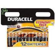Элемент питания Duracell LR03-12bl basic (мизинчиковая)