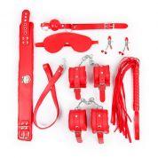 Великолепный набор для доминирования красного цвета